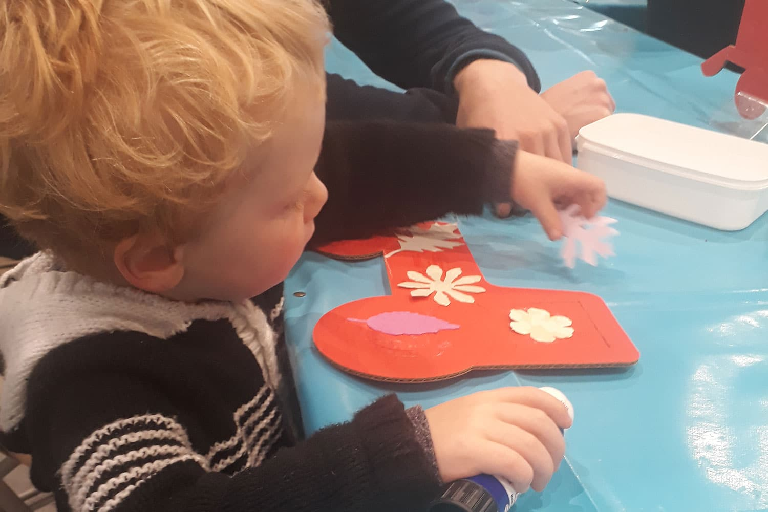 Hands on activities at Springtime Live
