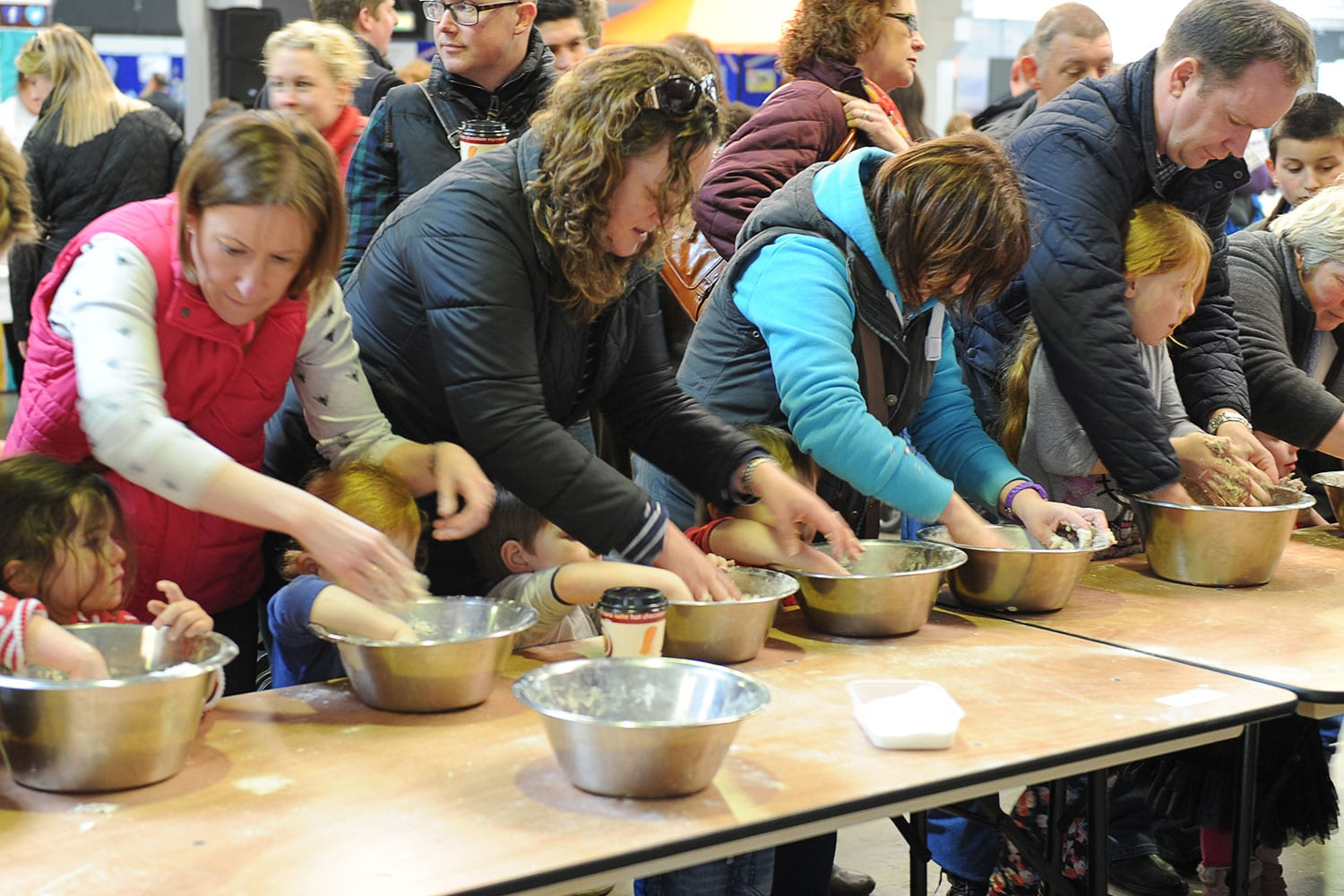 Breadmaking at Springtime Live